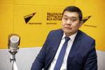 Директор Департамента пробации при Министерстве юстиции КР Зарылбек Алмазбек уулу на радио Sputnik Кыргызстан