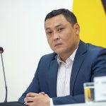 Главный специалист Санитарно-экологической инспекции Айбек Умаров во время брифинга в пресс-центре Sputnik Кыргызстан