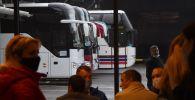 Междугородние автобусы. Архивное фото