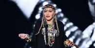 Певица Мадонна. Архивное фото