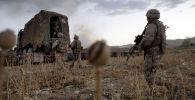 АКШнын деңиз аскерлери  Афганистандын Гильменд провинциясында талибдерге каршы операция жүрүп жаткан учурда