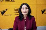 Республикалык кан борборунун башкы директорунун орун басары Айганыш Сатыбалдиева