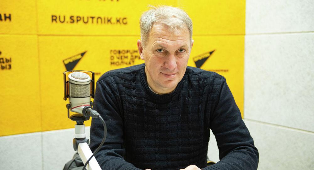 Директор Фонда сохранения и изучения пещер Алексей Дудашвили на радио Sputnik Кыргызстан