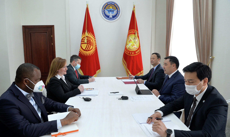 Президент КР Садыр Жапаров встретился со специальным представителем Генерального секретаря ООН по Центральной Азии Натальей Герман