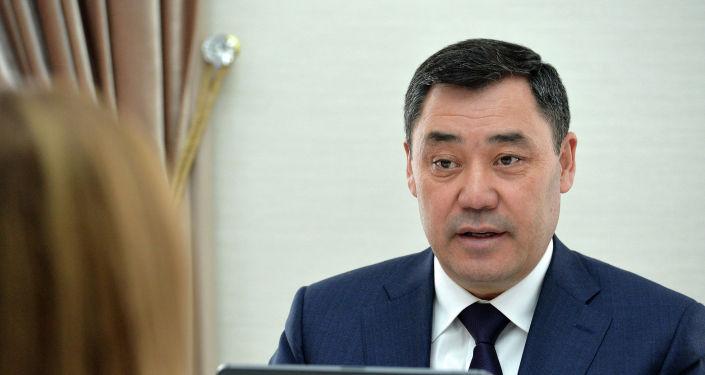 Президент КР Садыр Жапаров встретился со специальным представителем Генерального секретаря ООН по Центральной Азии. 30 марта 2021 года