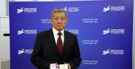 Ата Мекен партиясынын тизмеси менен депутаттык мандат алган Шералы Абдылдаев бүгүн парламентте ант берди