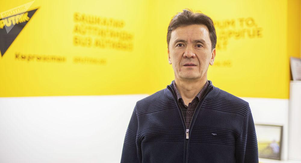 Улуттук илимдер академиясынын илимий кызматкери Талант Мамбетов