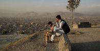 Кабул шаарынын тургундары. Архив
