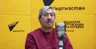 Известный скульптор, автор памятника Бишкек баатыру Адиль Сейталиев