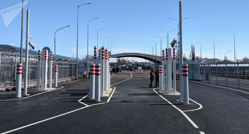 КПП Ак-Жол на кыргызско-казахской границе. Архивное фото