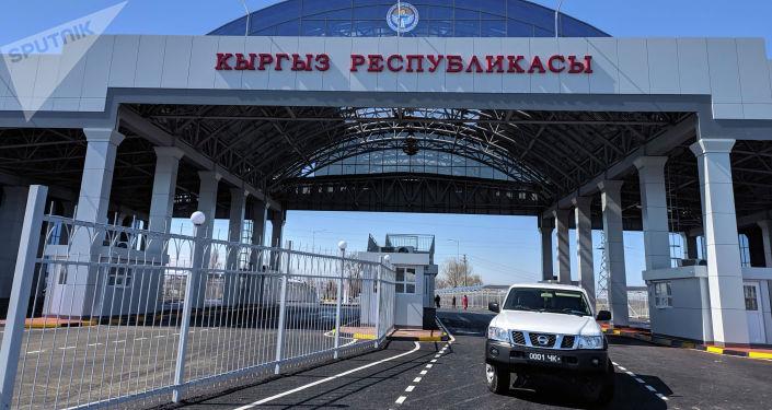 Контрольно-пропускной пункт Ак-Жол после капитальной реконструкции на кыргызско-казахской границе