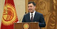 Кыргызстан президенти Садыр Жапаров