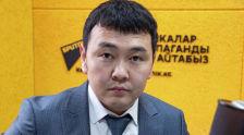 Руководитель профсоюза строителей Эльдияр Карачалов. Архивное фото