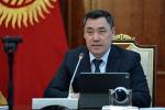 Кыргызстандын  президенти Садыр Жапаров