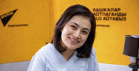 Певица Фатима Серазиева на радио Sputnik Кыргызстан