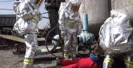 Министерство чрезвычайных ситуаций представило видео с масштабных военных учений Коопсуздук – 2021 на юге Кыргызстана.