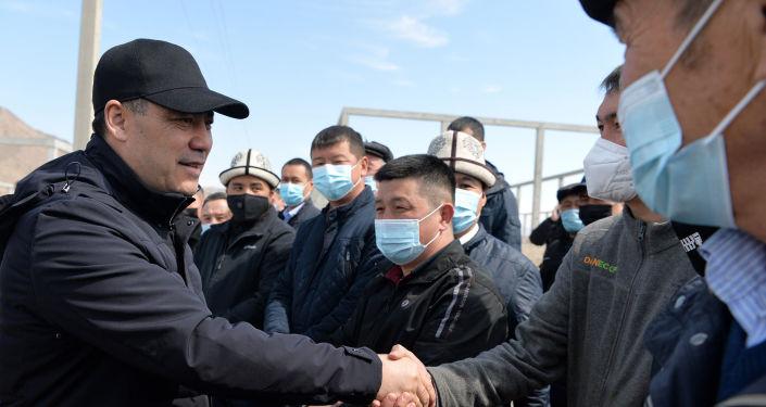 Президент Кыргызстана Садыр Жапаров ознакомился с проектом по строительству промышленных, торговых и логистических предприятий в городе Баткен