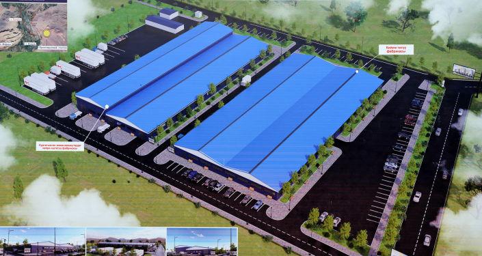 Проект по строительству промышленных, торговых и логистических предприятий в городе Баткен