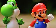 Игрушки по серии игр Super Mario. Архивное фото
