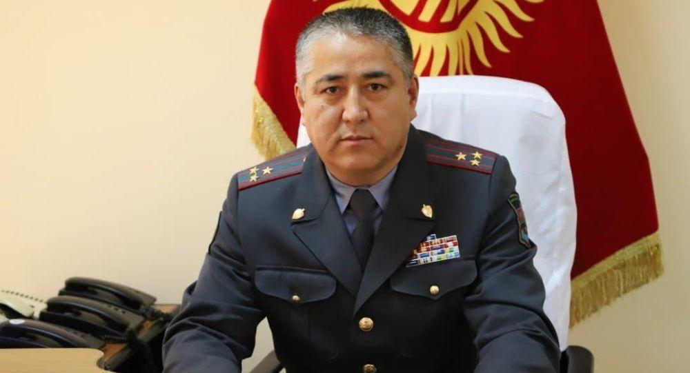 Новоназначенный заместитель министра внутренних дел КР Нурбек Абдиев