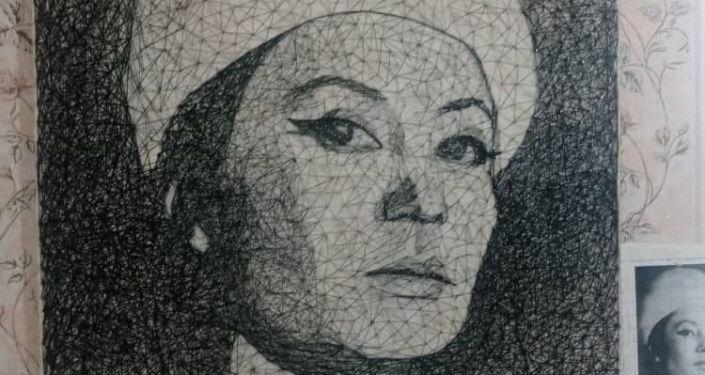 Известные личности в работе художницы Бегимгул Жолдошбековой
