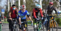 Велопробег здоровья в Бишкеке