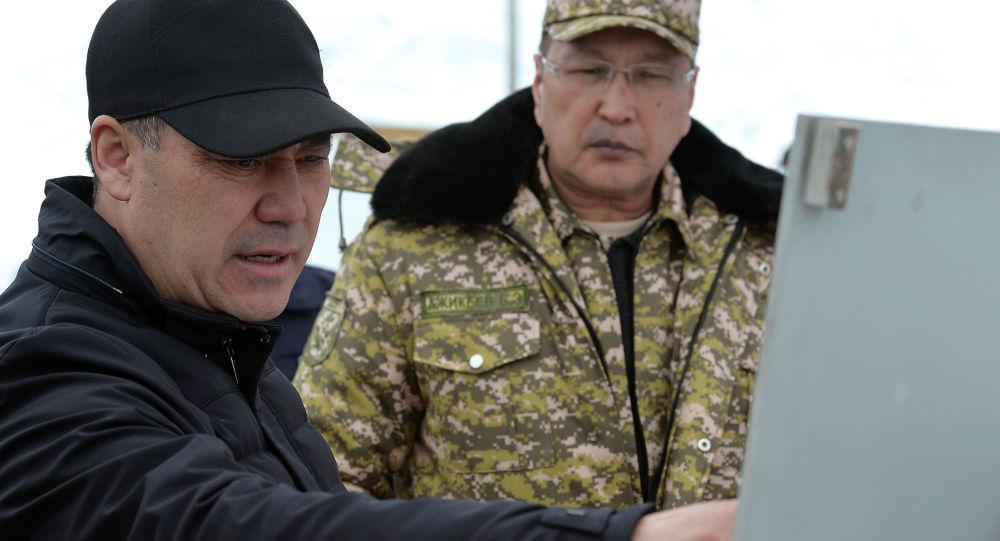 Встреча Садыр Жапаров с памирскими кыргызами