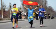 Массовый забег в Бишкеке