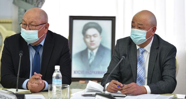 Заседание организационного комитета по подготовке и проведению празднования 120-летия со дня рождения Жусупа Абдрахманова. 06 апреля 2021 года