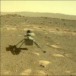 4-апрелде Ingenuity тик учагы атайын аппарат менен Кызыл планетага конду