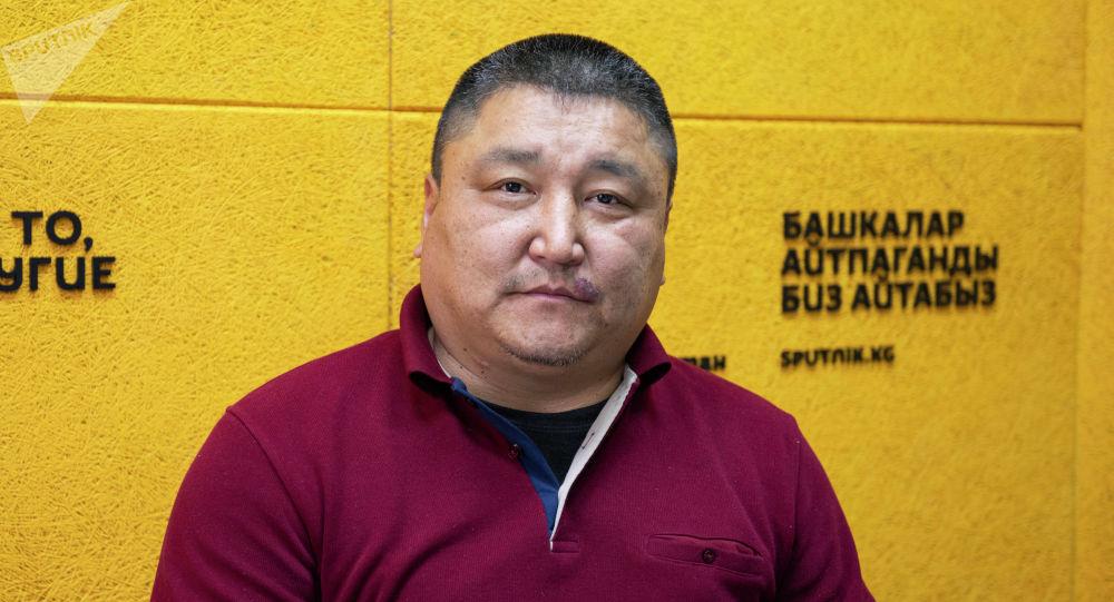 Такси айдоочулардын профсоюзунун төрагасы Руслан Жакыпбеков