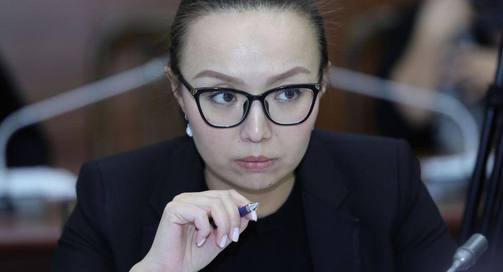 Депутат ЖК Айсулуу Мамашова. Архивное фото