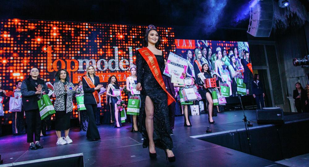 В столице выбрали победительниц республиканского конкурса красоты Топ-модель Кыргызстана — 2021