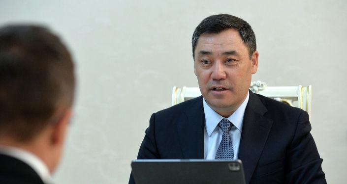 Президент Кыргызской Республики Садыр Жапаров принял министра иностранных дел и торговли Венгрии. 08 апреля 2021 года