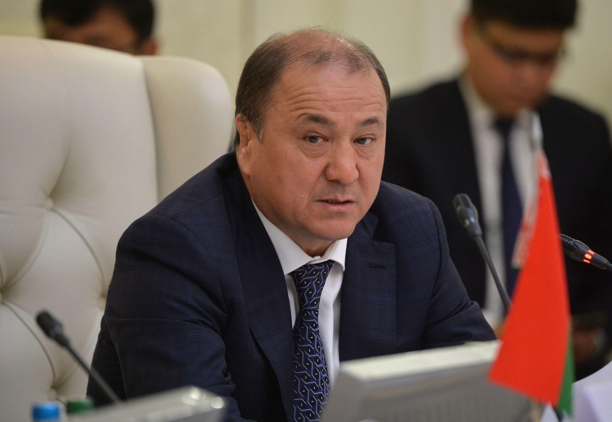 Министр внутренних дел Кыргызской Республики Мелис Турганбаев. Архивное фото