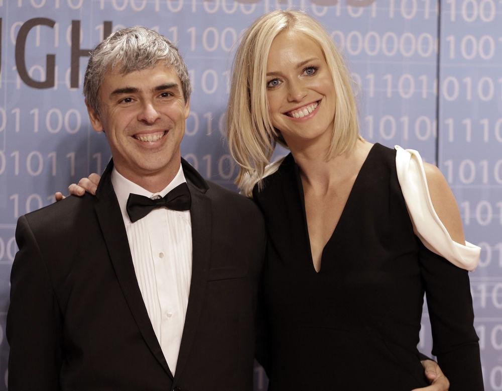 Ларри Пейдж и Сергей Брин разработали самую популярную поисковую систему в мире — Google. Состояние Пейджа (на фото) оценивается в 91,5 миллиарда долларов.