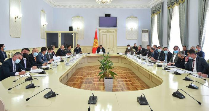 Заседание правительственной комиссии по приграничным вопросам в Бишкеке