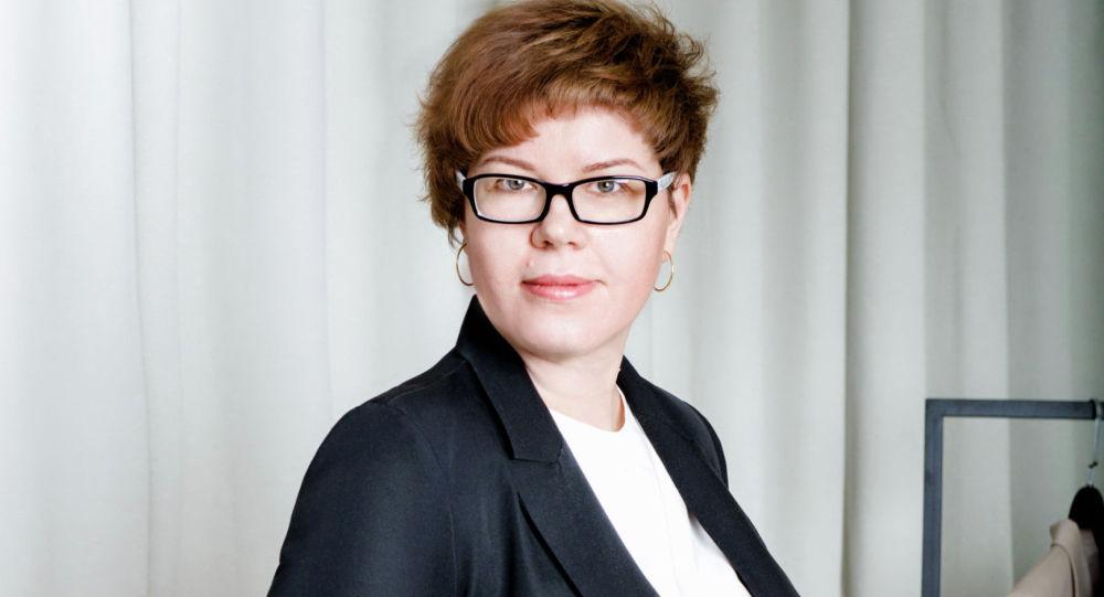 Коммерческий директор одной из крупных швейных компаний Кыргызстана Елена Лаврик