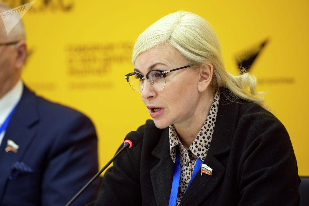 Член Комитета Совета Федерации по конституционному законодательству и государственному строительству, наблюдатель от Совфеда РФ Ольга Ковитиди