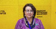 Международный наблюдатель от Межпарламентской ассамблеи СНГ Ирина Смирнова на радиостудии Sputnik Кыргызстан
