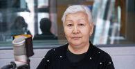 Саламаттык сактоо жана социалдык өнүктүрүү министрлигинин Медициналык социалдык экспертизалоо борборунун бөлүм башчысы Кымбат Абазбекова