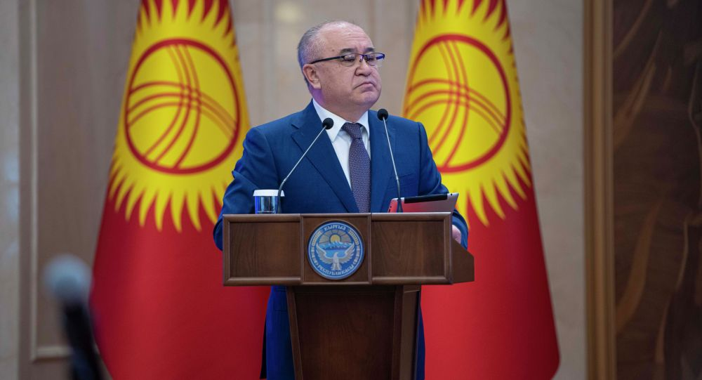 Экс-депутат ЖК Омурбек Текебаев. Архивное фото