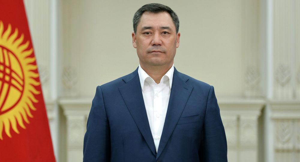 Президент Садыр Жапаров. Архивное фото