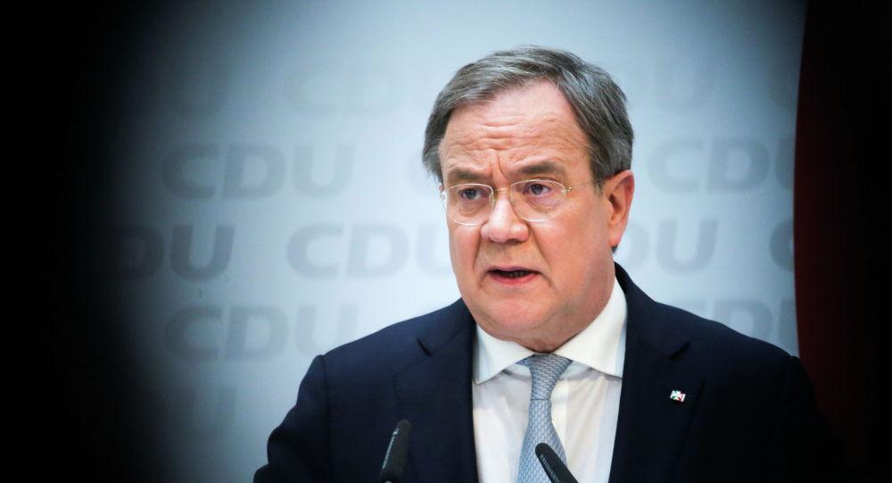 Лидер партии Христианско-демократический союз Германии Армин Лашет. Архивное фото