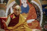 Тибеттик буддисттердин лидери Далай-лама. Архив