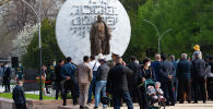 Борбор калаада Бишкек баатырдын айкелинин ачылыш аземи өттү