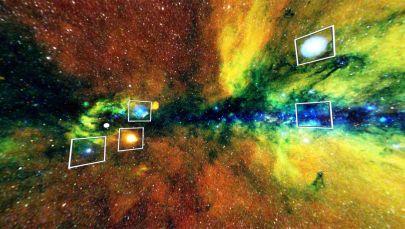 Россия илимдер академиясынын жана Роскосмостун космосту изилдөө институту түзгөн асмандын интерактивдүү рентгендик картасы