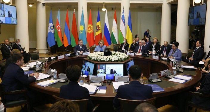 Международная парламентская конференция Глобальные вызовы и угрозы в условиях пандемии COVID-19 с участием стран СНГ
