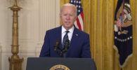 Президент США Джо Байден в своей речи о России пару раз оговорился, в том числе и при произношении фамилии российского президента.