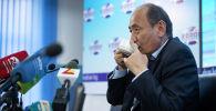 Кыргызстандын саламаттык сактоо жана социалдык өнүктүрүү министри Алымкадыр Бейшеналиев